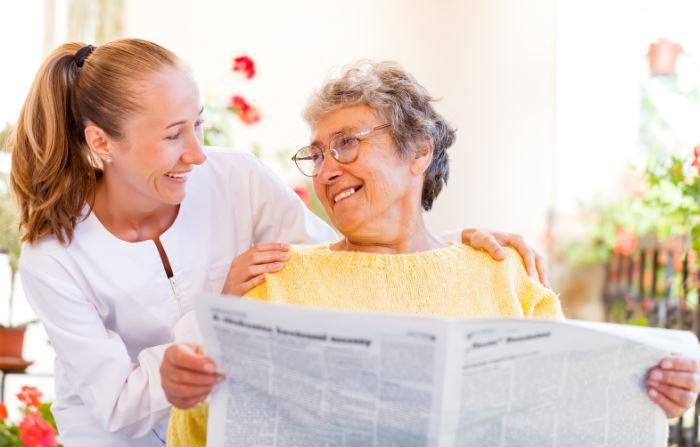 Celostna oskrba na domu je dobro organizirana