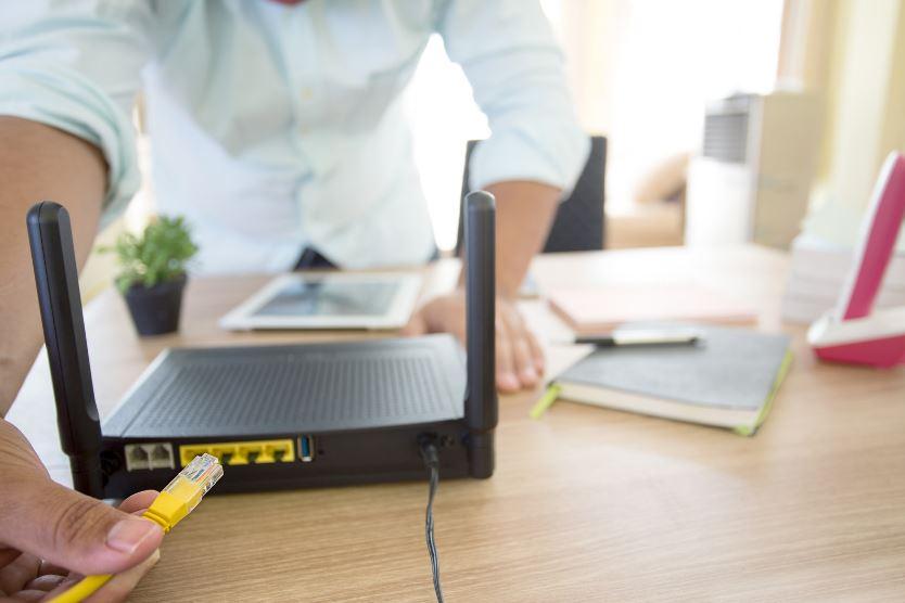 Usmerjevalnik za pokritost Wi-Fi omrežja